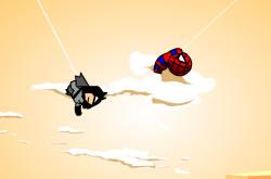Homem Aranha e Batman