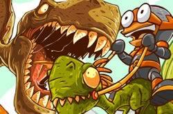 Crazy Raptor Ride