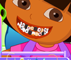 Dora Tooth Decoretion