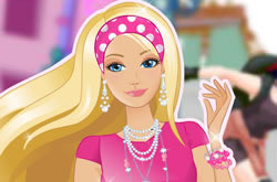 Barbie On Roller Skates