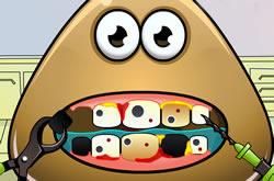 Pou Tooth Problems
