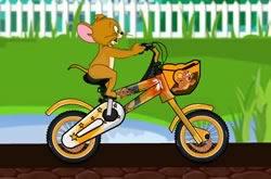 Tom E Jerry Corrida De Bicicleta