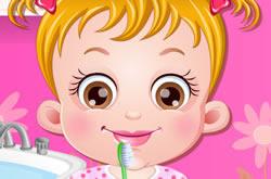 Baby Hazel Hora De Escovar Os Dentes