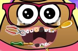 Pou Menina No Dentista
