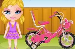 Bebê Barbie De Bicicleta