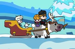 Frozen Trenó Da Elsa