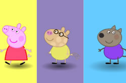 Peppa Pig Colours Memory