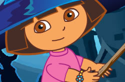 Dora Halloween Devil Castle