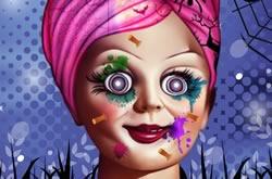 Annabelle Spooky Halloween Makeover
