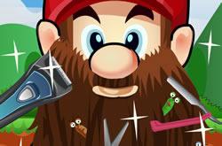 Mario Shaving
