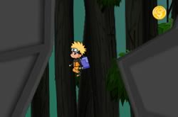 Naruto Fly In Valley