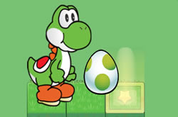 Yoshi In Magic Forest