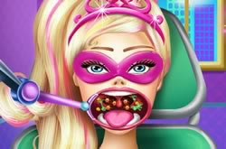 Super Barbie Throat Doctor