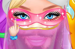 Super Barbie Beard Shaving