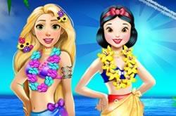 Rapunzel and Snow White Summer Breake