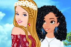 Cinderella And Moana Staycation