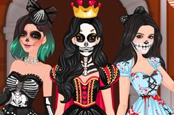 Kardashians Spooky Makeup