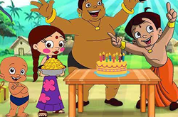 Bheem Birthday Party