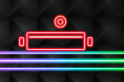 Neon Brick Breaker