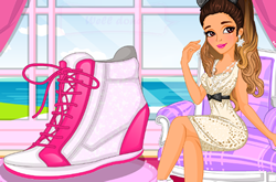Ariana Grandes Sneaker Designer