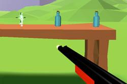 3D Bottle Shooter