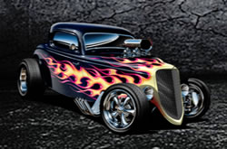 Jigsaw Puzzles Hot Rods