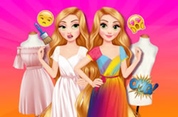 Disney Outfit Coloring