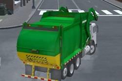Caminhão do Lixo 3D
