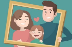 Happy Family Puzzle