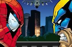 Homem Aranha vs Wolverine