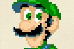 Jogo de Bordar do Mario