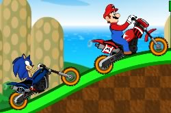 Sonic and Mario Racing