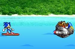 Jogo de Surf do Sonic