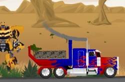 Jogo dos Transformers de Caminhão