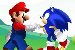 Casa do Mario e do Sonic