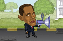 Obama Street Fight