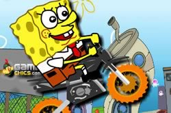 Bob Esponja Super Bike