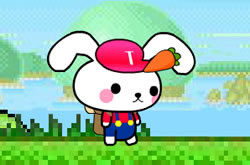 Rabbit in Mario World