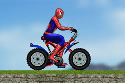 Spider Man Dead Bike