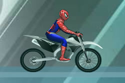 Spider Man Ice Bike