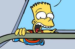 Bart Simpson Island Scape