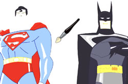 Batman vs Superman Coloring