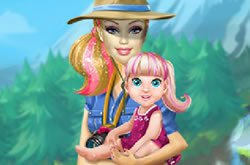 Barbie Family Going to Camping