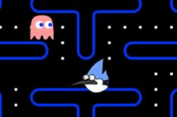 Regular Show Pac man