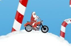 Santa Motocross Action