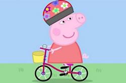 Peppa Pig de Bicicleta