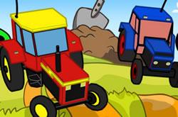 Rc Tractor Kids Racing
