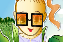 Corn Girl Dressup