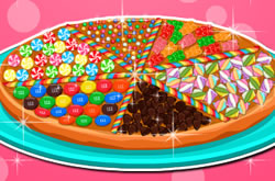 Cooking Candy Pizza