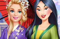 Barbie Visit Mulan